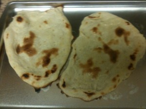 Naan Bread garlic and butter naan